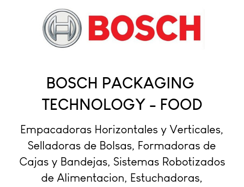 Bosch Packaging (Food) ES